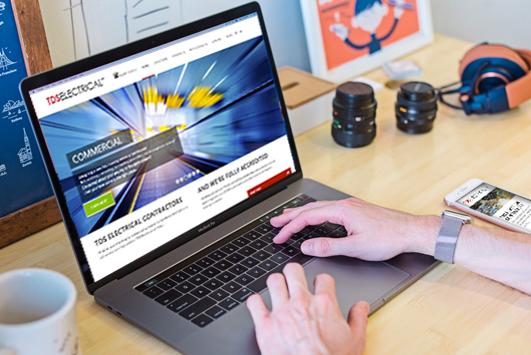 TDS Design Electrical Website